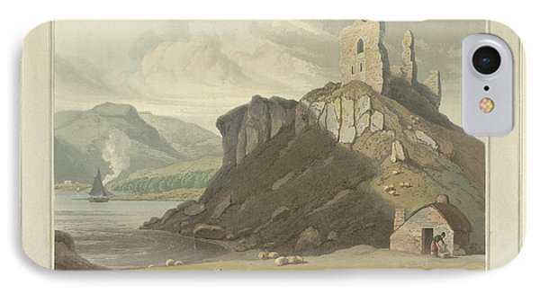 Arros Castle On The Isle Of Mull IPhone Case by British Library
