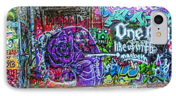 Art Alley Panorama IPhone Case