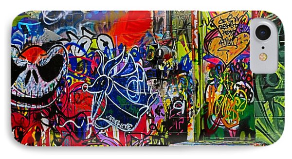 Art Alley Three IPhone Case