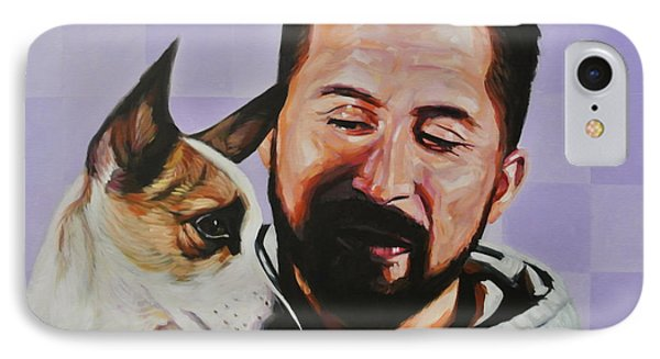 Art And Friend IPhone Case by Steve Hunter