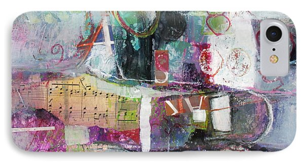 Art And Music IPhone Case by Michelle Abrams