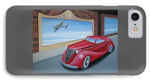 Art Deco Coupe Phone Case by Stuart Swartz