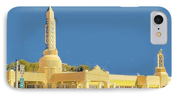 IPhone Case featuring the photograph Art Deco Gas Station by Janette Boyd
