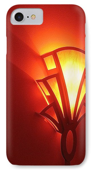 IPhone Case featuring the photograph Art Deco Light Fox Tucson Arizona  Theater  2006 by David Lee Guss