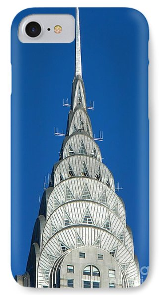 Art Deco Skyscraper - The Chrysler Building Phone Case by Emmy Vickers