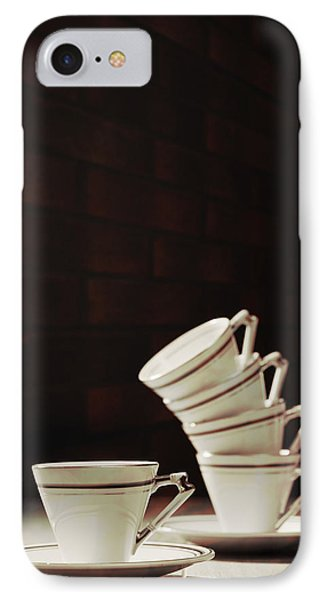 Art Deco Teacups Phone Case by Amanda Elwell