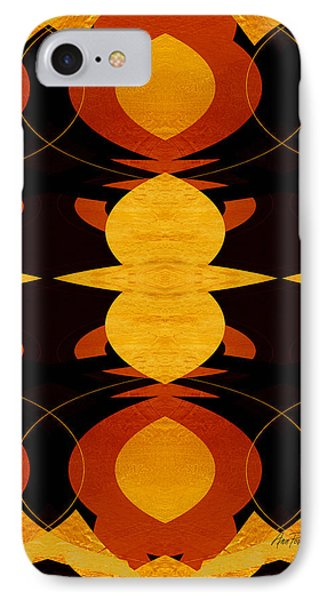 Art Deco Two - Abstract Art Phone Case by Ann Powell
