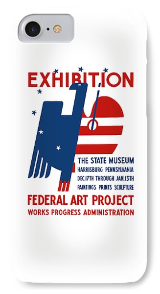 Art Exhibition The State Museum Harrisburg Pennsylvania Phone Case by War Is Hell Store