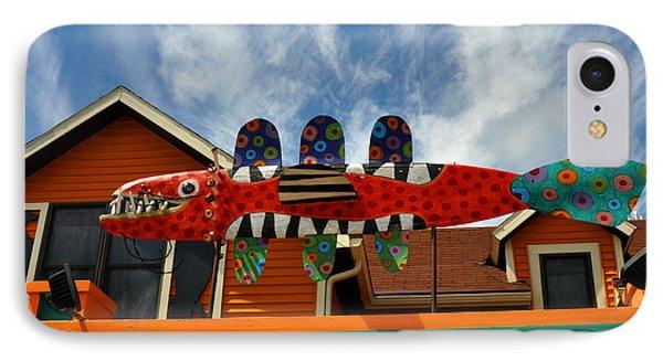 Art Gallery Suttons Bay Mi IPhone Case by Diane Lent