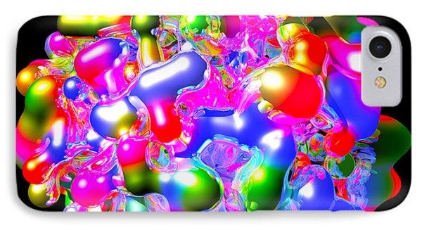 IPhone Case featuring the digital art Art In Coalescence... by Tim Fillingim