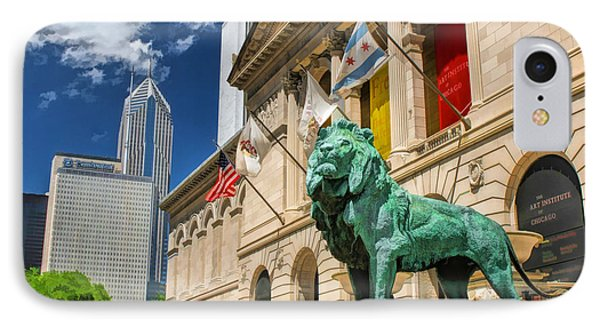 Art Institute In Chicago IPhone Case by Christopher Arndt