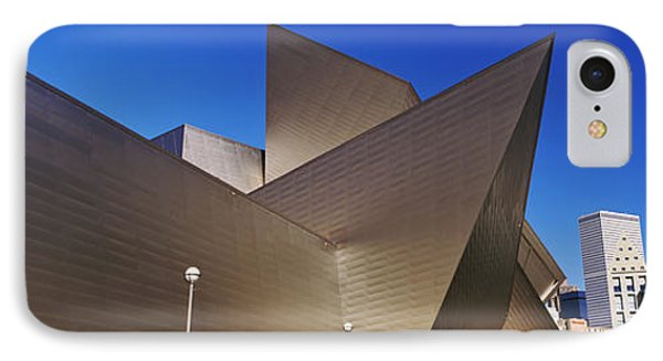 Art Museum In A City, Denver Art IPhone Case by Panoramic Images