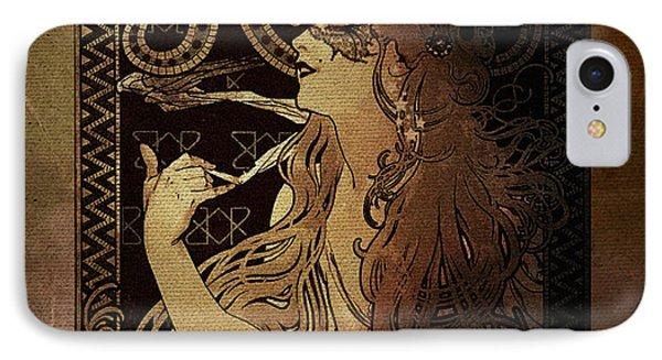Art Nouveau Job - Masquerade IPhone Case