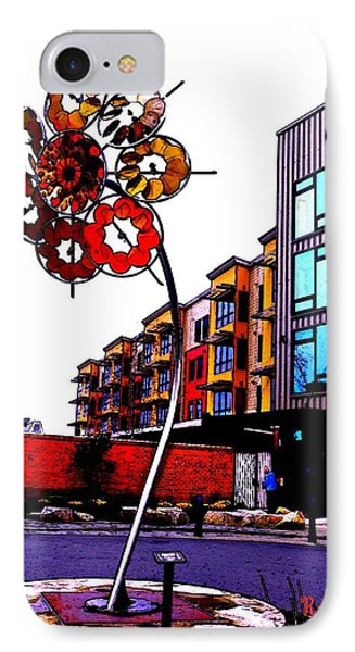 IPhone Case featuring the photograph Art On The Ave by Sadie Reneau