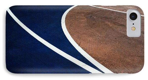 Art On The Basketball Court  11 IPhone Case by Gary Slawsky