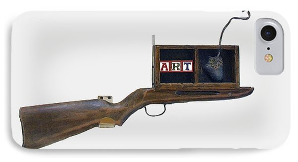 Art Rifle IPhone Case