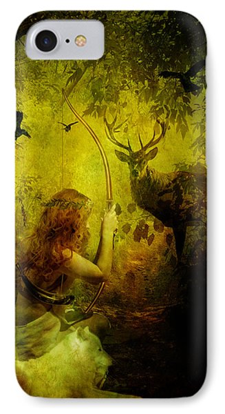 Artemis IPhone Case by Mary Hood