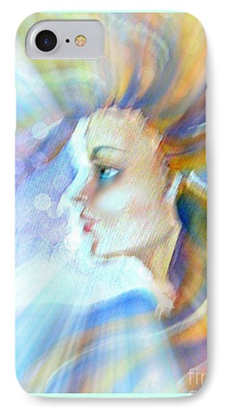 IPhone Case featuring the painting Artemis by Leanne Seymour