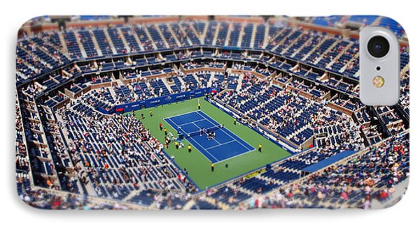 Arthur Ashe Stadium From High Angle IPhone Case by Mason Resnick