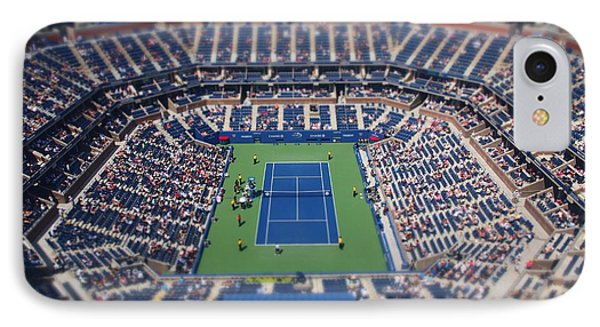 Arthur Ashe Stadium Special Effect IPhone Case by Mason Resnick