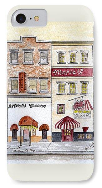 Arthur's Tavern - Greenwich Village IPhone Case by AFineLyne