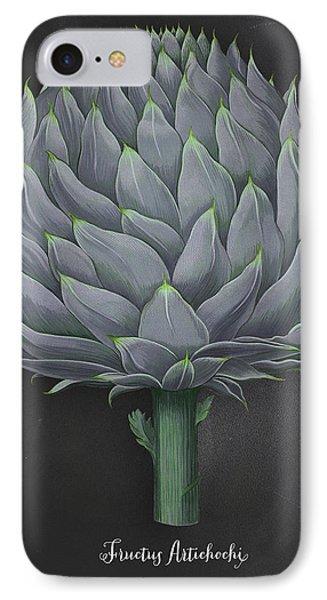 Artichoke Kitchen Art Print IPhone 7 Case