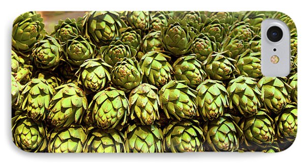 Artichokes At Farm Stand, Route 34 IPhone Case