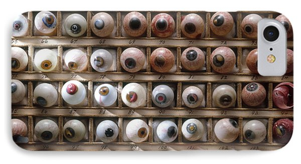 Artificial Eyes  Disorders Phone Case by Brooks Brown