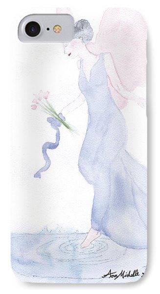 Artist Angel IPhone Case by Ann Michelle Swadener