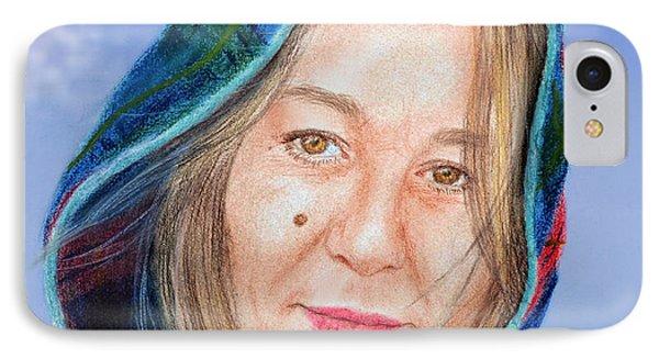 Artist Jadranka Bezanovic Sovilj  Version II IPhone Case by Jim Fitzpatrick