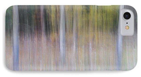 Artistic Birch Trees IPhone Case
