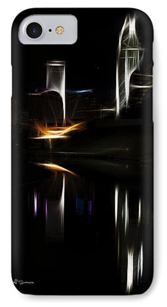 Artistic Omaha IPhone Case by Jeff Swanson