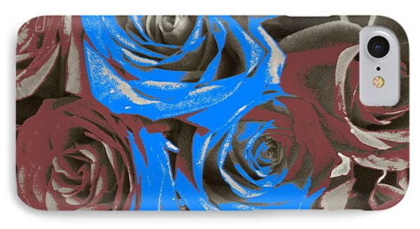 IPhone Case featuring the photograph Artistic Roses On Your Wall by Joseph Baril