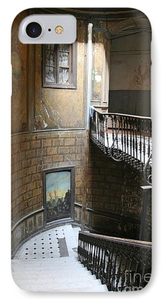 Artistic Staircase In Tbilisi IPhone Case by Lali Kacharava