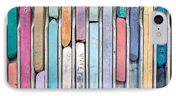 Artists Chalks Phone Case by Edward Fielding