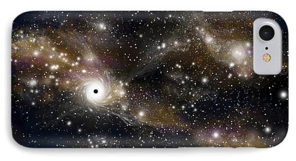 Artists Concept Of A Black Hole IPhone Case