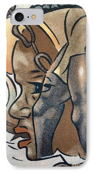 Artists Of Oasis  IPhone Case by Fania Simon