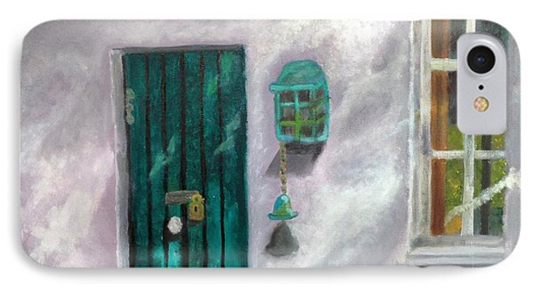 Artist's Studio In The Meadow IPhone Case by Margaret Harmon
