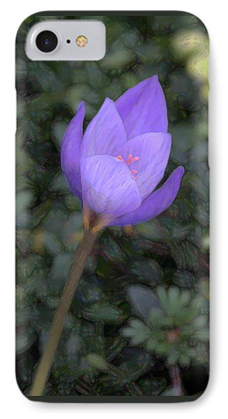 IPhone Case featuring the photograph Purple Flower by John Freidenberg