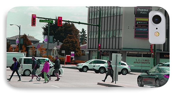 IPhone Case featuring the photograph Oakridge Intersection by Laurie Tsemak
