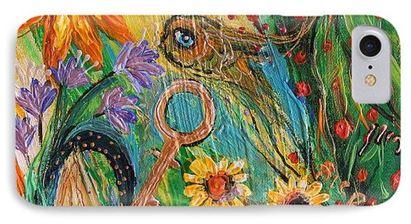 Artwork Fragment 101 IPhone Case by Elena Kotliarker