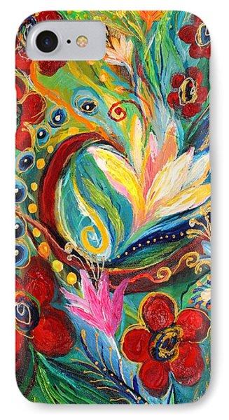 Artwork Fragment 26 IPhone Case by Elena Kotliarker