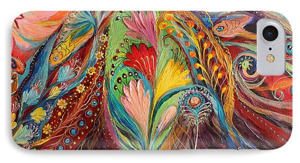 Artwork Fragment 64 Phone Case by Elena Kotliarker