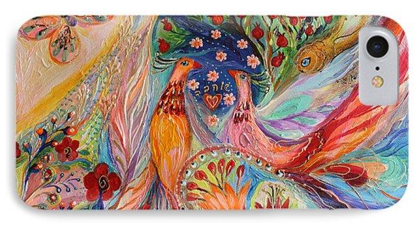 Artwork Fragment 89 IPhone Case by Elena Kotliarker