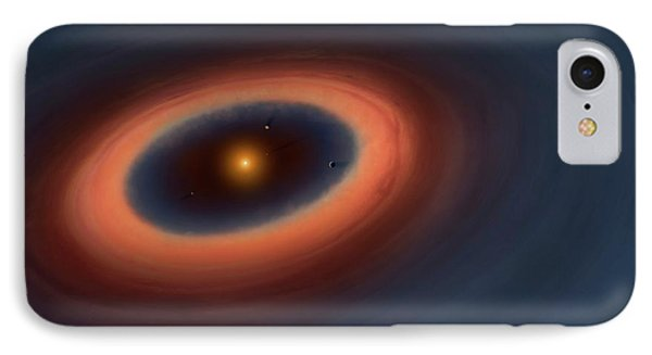Artwork Of A Ptotoplabetary Disc IPhone Case by Mark Garlick