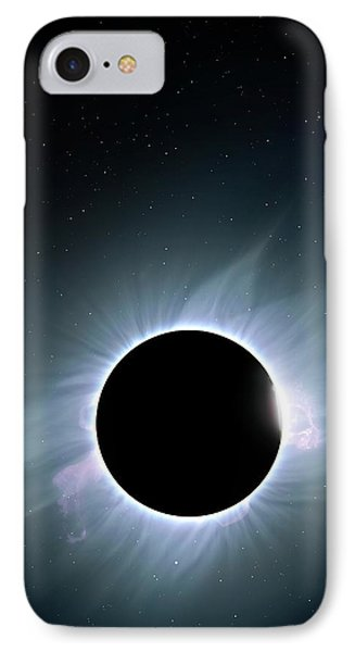 Artwork Of Solar Corona IPhone Case