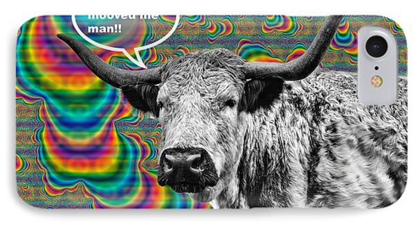 Arty Coo Really Mooved IPhone Case