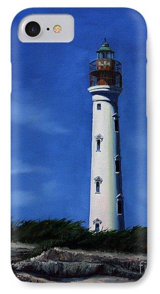 Aruba Light House IPhone Case by Paul Walsh