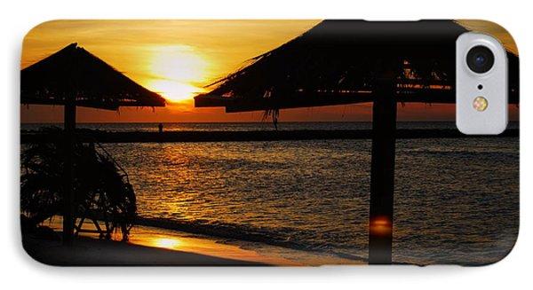 Aruba Sunset IPhone Case