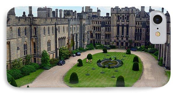 Arundel Castle Courtyard IPhone Case